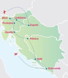 Zagreb turismo en la capital croata panavisi n tours for Oficina de turismo croacia
